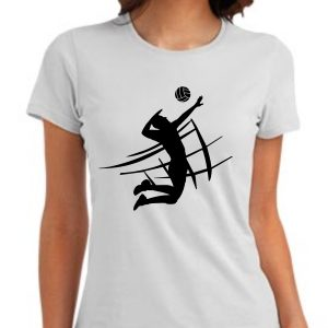 Damska koszulka Biała
