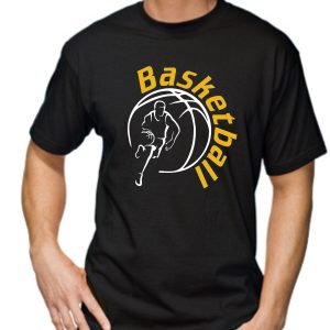 Męska koszulka Czarna