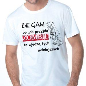 Męska koszulka Biała