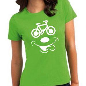 Damska koszulka Zielona