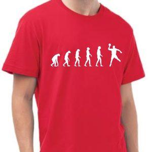 Męska koszulka Czerwona