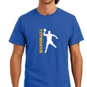 Męska koszulka Niebieska