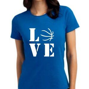 Damska koszulka Niebieska